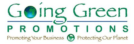 Going Green Promotions logo
